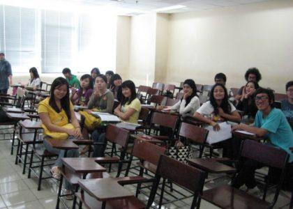 Jakarta visit 2009: work methods and Binus University