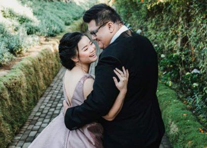 Graduate Susanah celebrates her wedding