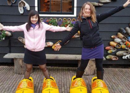 Mili Chana visiting the Netherlands
